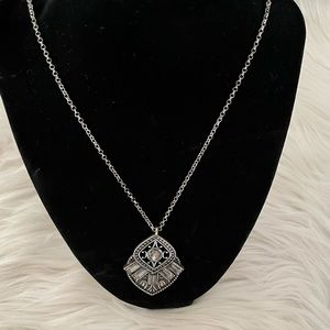 Maurices Silver Pendant Necklace